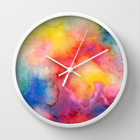 Acquiesce Wall Clock by Jacqueline Maldonado | Society6