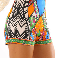 Aztec Life Shorts: Multi
