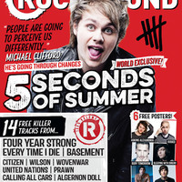 Rock Sound Magazine Store — ISSUE 190.2 / 5 SECONDS OF SUMMER / MICHAEL