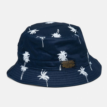 10Deep  Accessories  Thompson Fishermanx27s Hat  Navy Palm