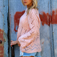 Rosy Lightweight Knit