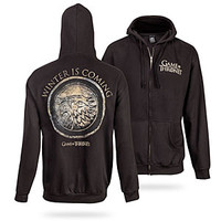 Winter Is Coming Zip-up Hoodie