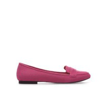 ZARA Pink Moccasin Flats Pumps with Decorative Band - UK7/EUR40/US9