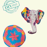 Elephant & Plateau Patch Set - Indego Africa