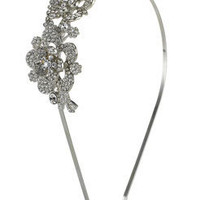 Crystal Flower Bridal Statement Alice Band at Accessorize