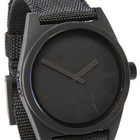 The Daily Woven Watch in Black