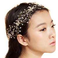 Crystal Diamante Wedding Headband