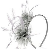 Double Corsage With Feather On Band at Accessorize