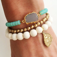 Summer Love Bracelet Stack