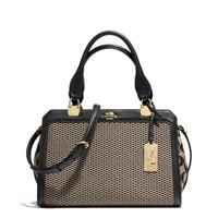 MADISON MINI LEXINGTON CARRYALL IN JACQUARD FABRIC
