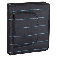 Gear-Up Black Pinstripe Homework Holder