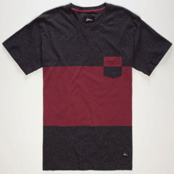IMPERIAL MOTION Midway Slubby Mens Pocket Tee