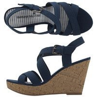 Women's - Montego Bay Club - Women's Vander Band Wedge - Payless Shoes
