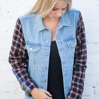 TIFFANY DENIM JACKET