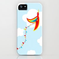 Kite Bird iPhone & iPod Case by Boriana Giormova | Society6