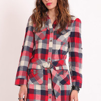 Cabin Care Flannel Tunic - &amp;#36;34.00 : ThreadSence.com, Your Spot For Indie Clothing  Indie Urban Culture