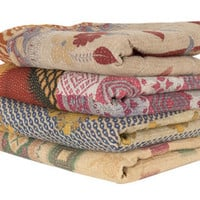 VINTAGE PIECED BLANKET | bedding/blankets | accessories | Jayson Home & Garden