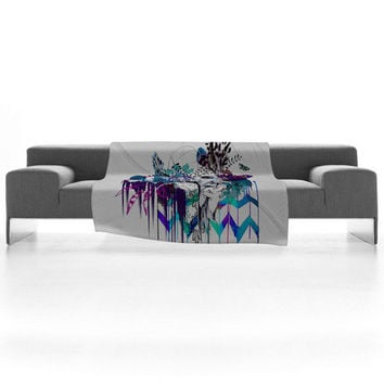 DENY Designs Home Accessories | Holly Sharpe Tribal Girl Colourway Fleece Throw Blanket