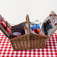 4-Pc. Keep It Cool Picnic Basket