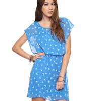 Birds In Flight Dress | FOREVER21 - 2000041804