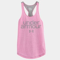 Girls' UA Qualifier Tri-Blend Tank