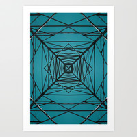 Current Art Print by Ubik Designs