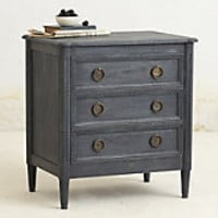 Washed Wood Nightstand