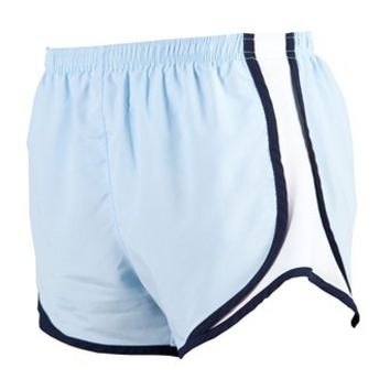 Boxercraft Ice Blue with White  Velocity Short  Lightweight
