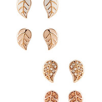 Leaf Stud Set