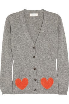 Chinti and Parker | Heart-pocket cashmere cardigan | NET-A-PORTER.COM