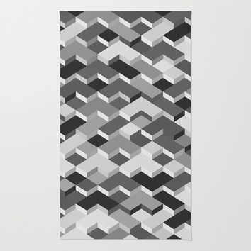 Shapes Area & Throw Rug by Ornaart
