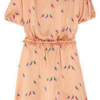 Marc by Marc Jacobs | Finch printed silk dress | NET-A-PORTER.COM