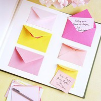 Envelope Guest Book - Wedding Guest Book Ideas - DIY Weddings - MarthaStewartWe