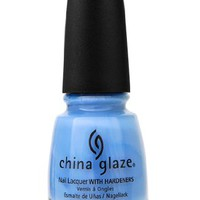China Glaze Nail Polish, Secret Peri-Winkle, 0.5 Fluid Ounce