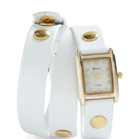 The Bands of Time Watch in White | Mod Retro Vintage Watches | ModCloth.com