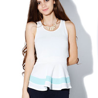 Papaya Clothing Online :: SWEETHEART PEPLUM DRESSY TOP