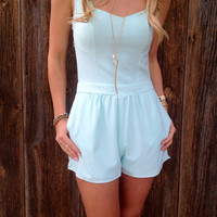 Heart Cut Out Romper
