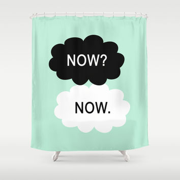 All We Have Is Now Shower Curtain by BeautifulHomes | Society6