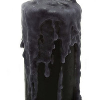 Wick[ed] Pre-Dripped Candle in Night