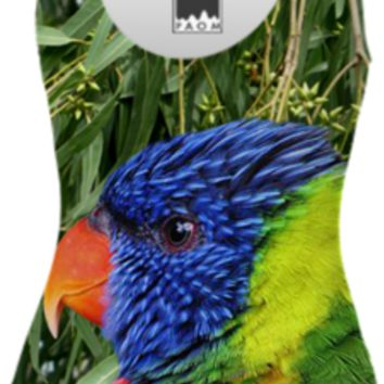 Rainbow Lorikeet Swimsuit created by ErikaKaisersot | Print All Over Me