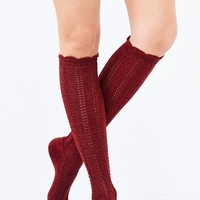 Braided Soft Knee-High Sock - Urban Outfitters