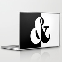 Black & White Laptop & iPad Skin by BeautifulHomes | Society6