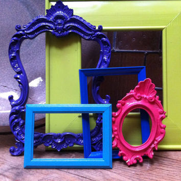 Gallery of Frames Funky Vintage Frames Unique Home by FeFiFoFun