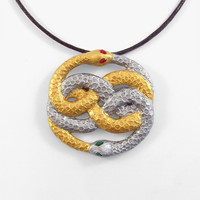 Neverending Story Auryn Pendant And Necklace | Luulla