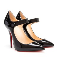 CHRISTIAN LOUBOUTIN | Pensee Patent High Heels | Browns fashion & designer clothes & clothing
