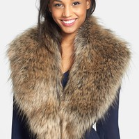 BP. Oversized Faux Fur Collar (Juniors) (Online Only)