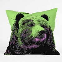 DENY Designs Home Accessories | Romi Vega Bear Throw Pillow