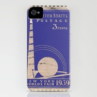 3 cents, New York World's Fair 1939 iPhone Case by Romi Vega | Society6