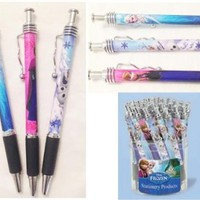 Disney Frozen Jazz Pen Silver x 3 Pen