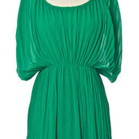 Trendy & Cute Clothing - Chloe Loves Charlie - Fortuny Emerald Dress - chloelovescharlie.com | $44.00